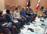 دیدار فرماندار جدید بانە با اعضای بنیاد توسعۀ فرهنگی (آشتی)